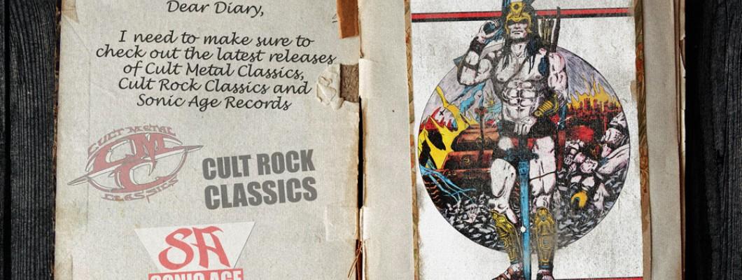 Cult Metal Classics / Cult Rock Classics Release Plan