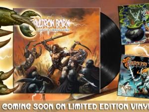 CAULDRON BORN Reissues on Vinyl by CULT METAL CLASSICS