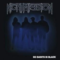 NIGHTMISSION - No Saints In Black CD
