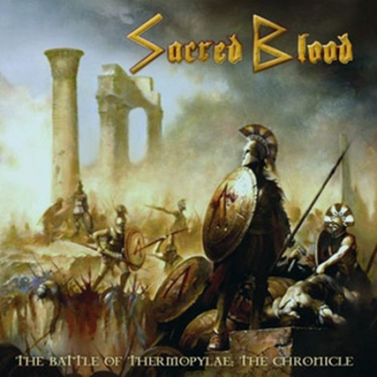 SACRED BLOOD - The Battle Of Thermopylae: The Chronicle CD