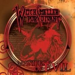 WITCHSMELLER PURSUIVANT - Manifest Of Evil CD