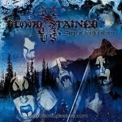 BLOOD STAINED DUSK - Dirge Of Death's Silence CD
