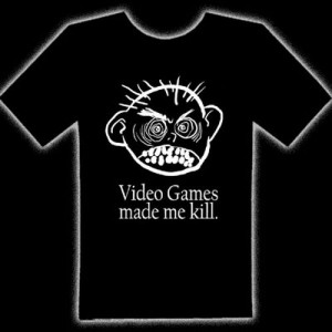VIDEO GAMES MADE ME KILL T-SHIRT - Video Games Made Me Kill