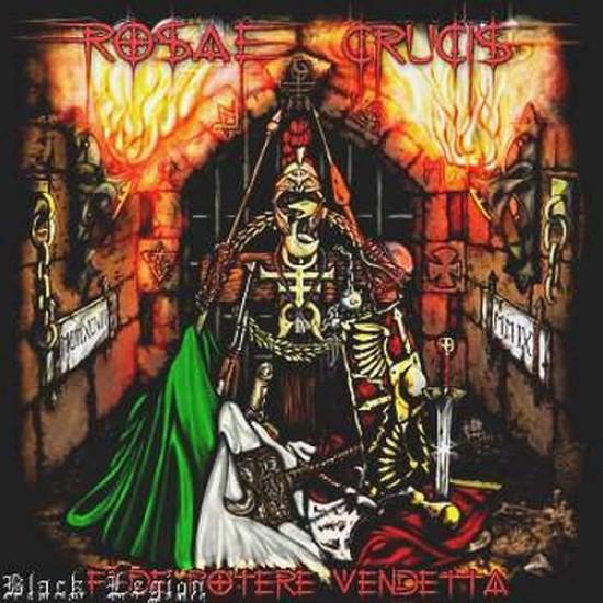 ROSAE CRUCIS - Fede Potere Vendetta CD