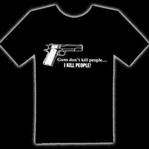 GUNS DON'T KILL T-SHIRT - Guns Don't Kill