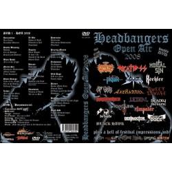 HEADBANGERS OPEN AIR 2008 DVD