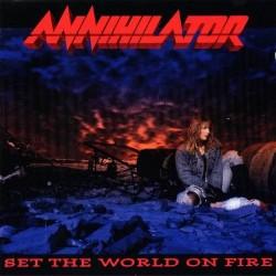 ANNIHILATOR - Set The World On Fire + OBI CD