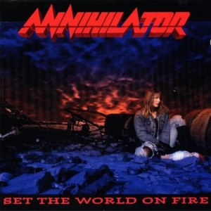 ANNIHILATOR - Set The World On Fire + OBI