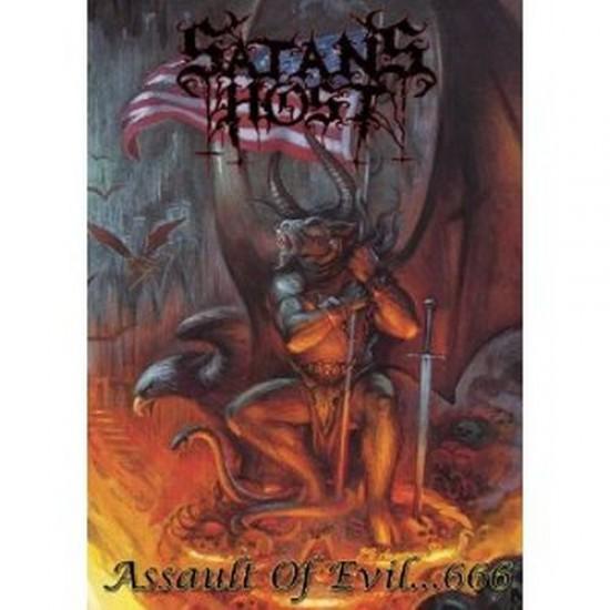 SATAN'S HOST - Assault Of Evil...666 DVD