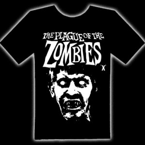 THE PLAGUE OF THE ZOMBIES T-SHIRT - The Plague Of The Zombies