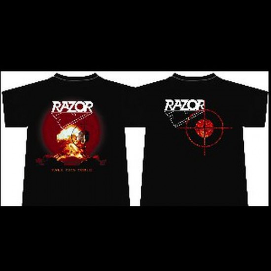 RAZOR - Take This Torch T-Shirt