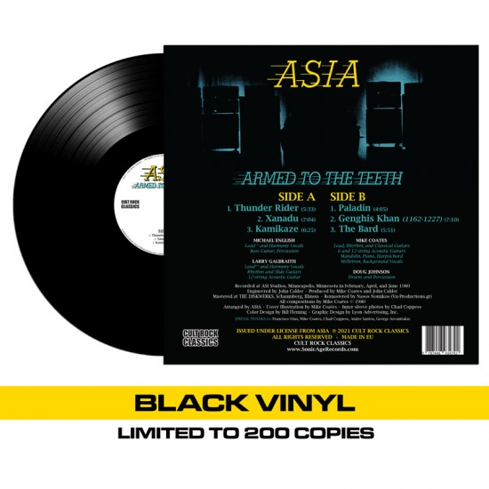 ASIA - Armed To The Teeth Vinyl LP