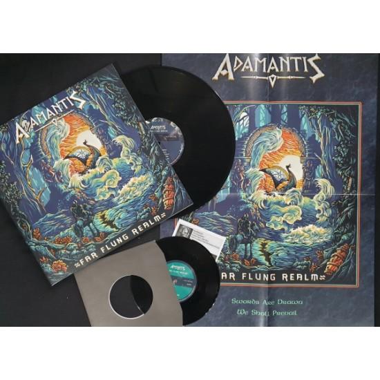 ADAMANTIS - Far Flung Realm Vinyl + 7'' Gatefold LP