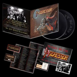 AGGRESSOR - By Any Means Necessary Vinyl