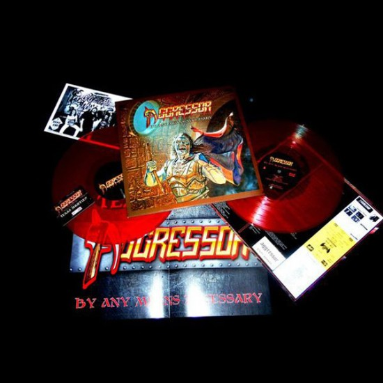 AGGRESSOR - By Any Means Necessary Vinyl LP