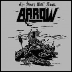 ARROW - The Heavy Metal Mania / Master Of Evil Grey Vinyl LP