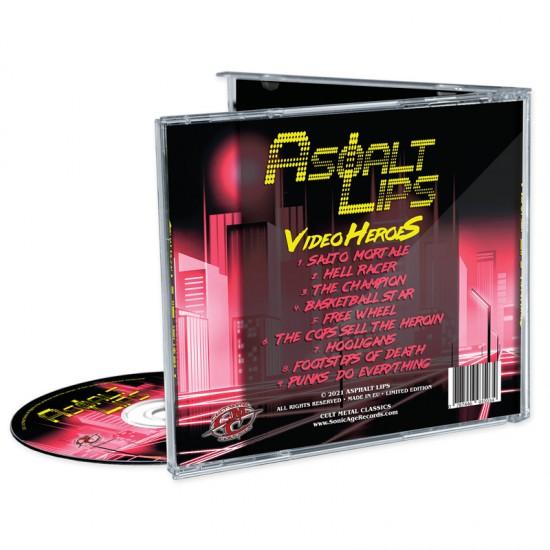 ASPHALT LIPS - Video HeroeS CD