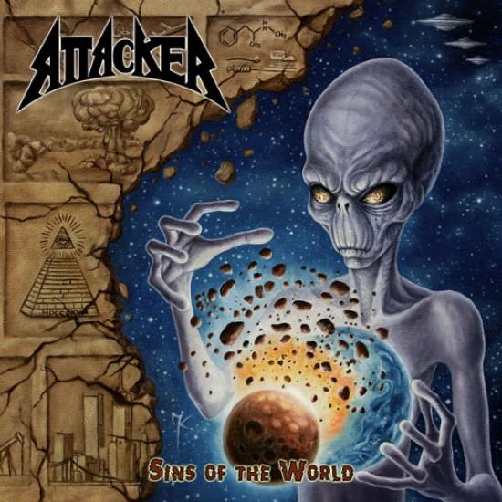 ATTACKER - Sins Of The World CD