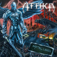 ATTIKA - Metal Lands CD