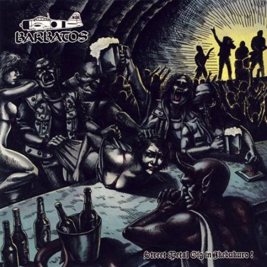 BARBATOS - Street Metal Gig In Ikebukuro!  + OBI CD