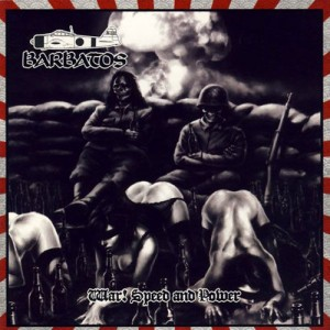 BARBATOS - War! Speed And Power + OBI