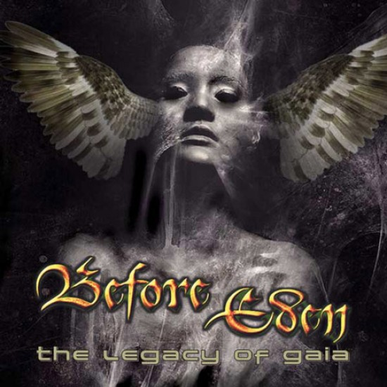 BEFORE EDEN - The Legacy Of Gaia CD