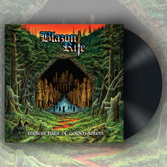 BLAZON RITE - Endless Halls Of Golden Totem Black Vinyl LP