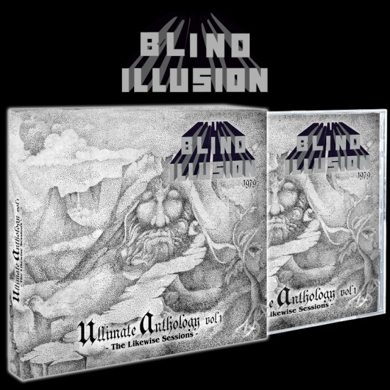 BLIND ILLUSION - The Likewise Sessions (Ultimate Anthology Vol 1) 2CD