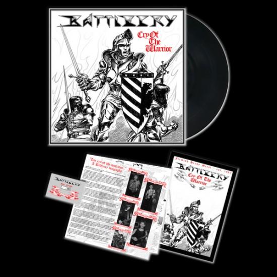 BATTLECRY - Cry Of The Warrior Black LP
