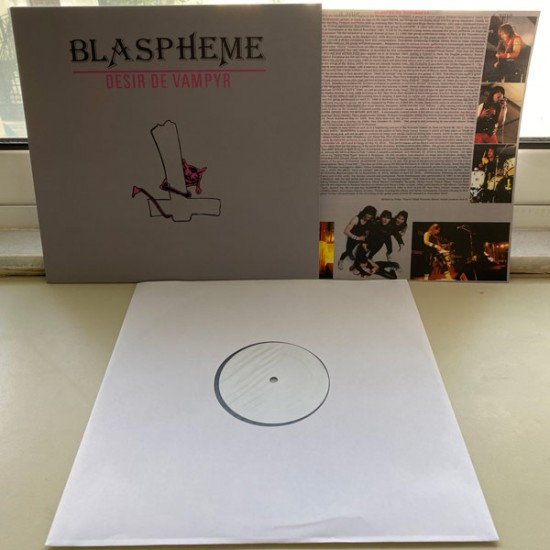 BLASPHEME - Desir De Vampyr Vinyl (TEST PRESS) LP