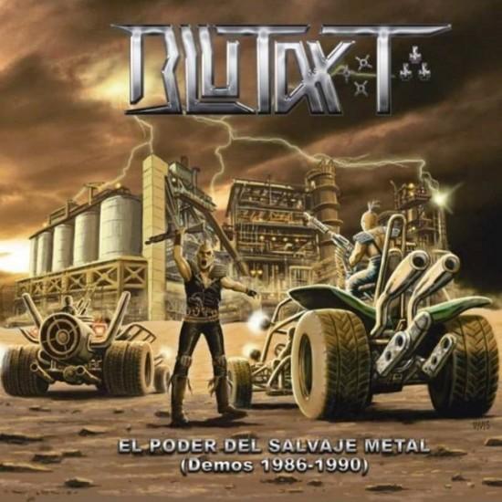BLUTAXT - El Poder Del Salvaje Metal (Demos 1986-1990) CD