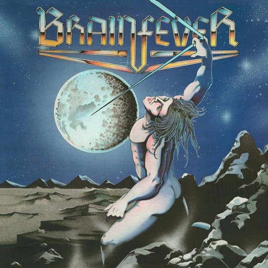 BRAINFEVER - Capture The Night Blue Vinyl LP