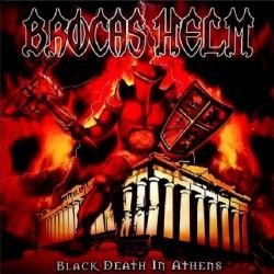 BROCAS HELM - Black Death In Athens Vinyl LP