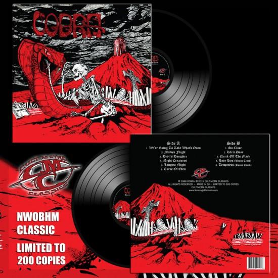 COBRA - Back From The Dead Black Vinyl LP