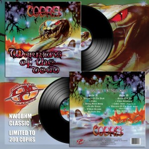 COBRA - Warriors Of The Dead Black Vinyl