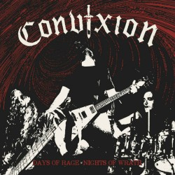 CONVIXION - Days Of Rage Nights Of Wrath CD