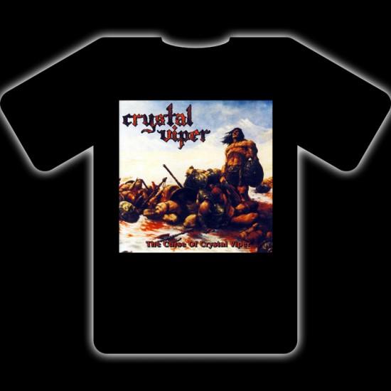 CRYSTAL VIPER - The Curse Of Crystal Viper T-Shirt