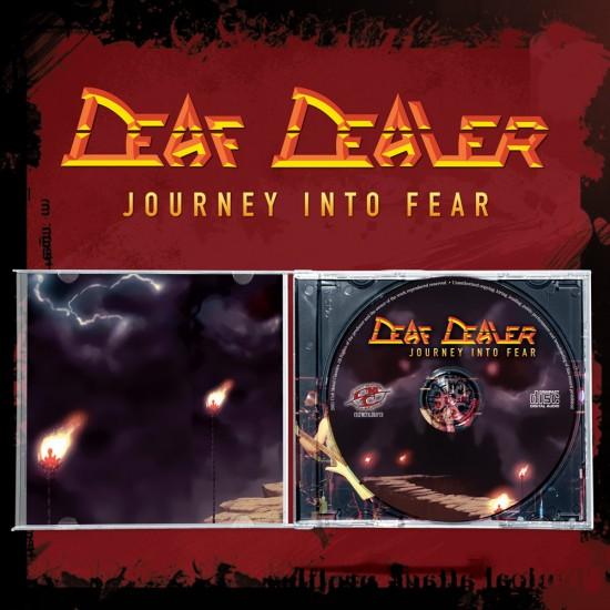 DEAF DEALER - Journey Into Fear JEWEL CD