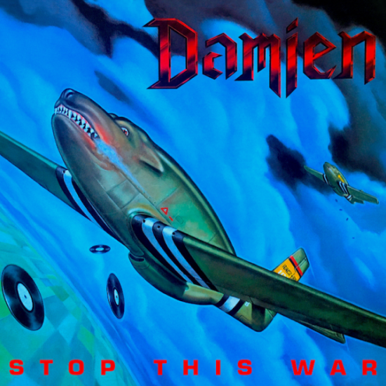 DAMIEN - Stop This War CD