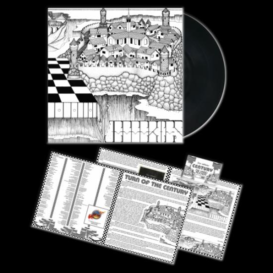 DAN JEFFERIES' CENTURY - Century Black Vinyl LP