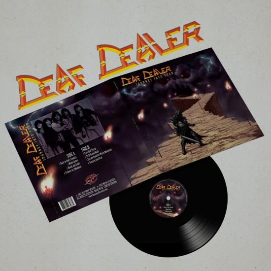 DEAF DEALER - Journey Into Fear Vinyl GATEFOLD LP