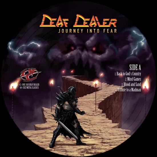 DEAF DEALER - Journey Into Fear Picture Disc LP