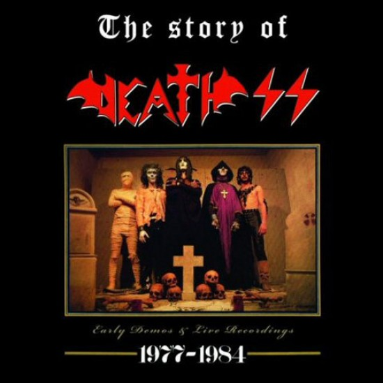 DEATH SS - The Story Of Death SS 1977 - 1984 CD