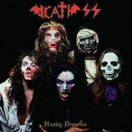 DEATH SS - Heavy Demons / The Cursed Concert CD