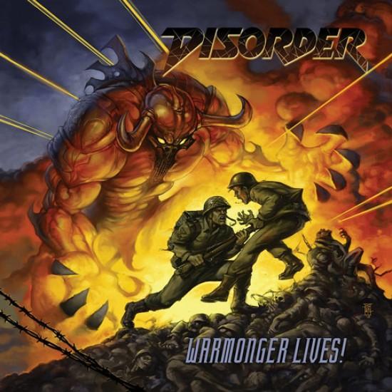 DISORDER - Warmonger Lives! CD