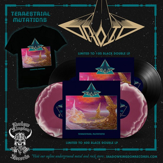 DROID - Terrestrial Mutations Black Vinyl LP