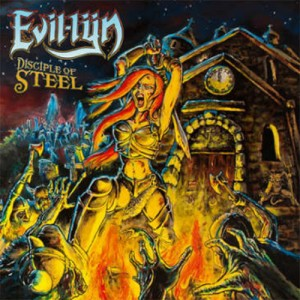 EVIL-LYN - Disciple Of Steel Black Vinyl