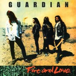 GUARDIAN - Fire And Love (ORANGE Vinyl) LP