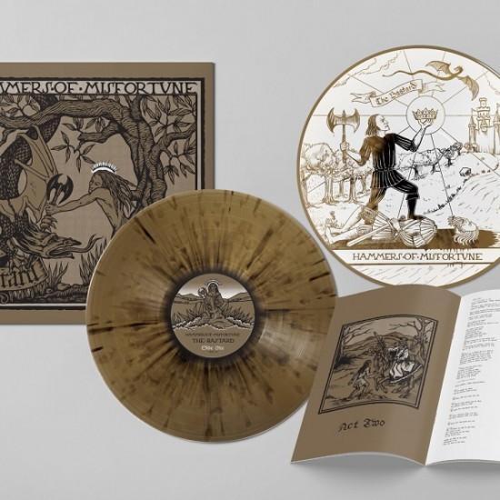 HAMMERS OF MISFORTUNE - The Bastard Vinyl DLP