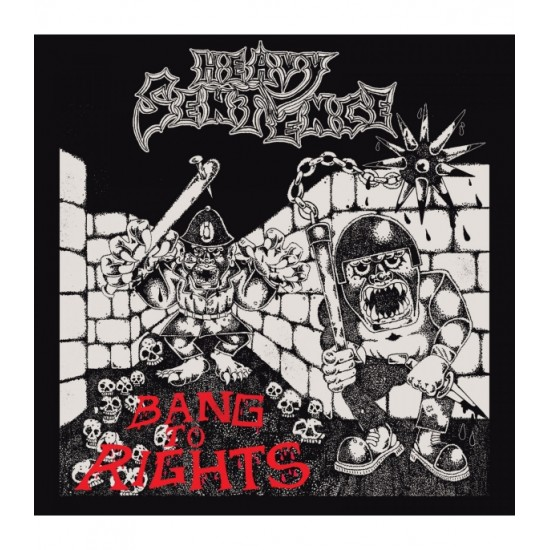 HEAVY SENTENCE - Bang To Rights + Sticker CD